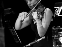 Sara in concert with Esperanza Spalding's Chamber Music Society
