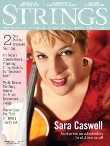 Strings Magazine cover